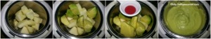 Avocado Apple Mush Baby Food With Stepwise Pictures